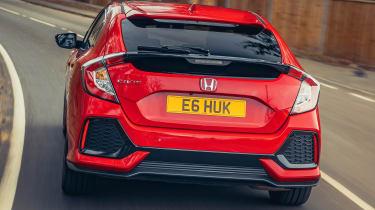 Honda Civic diesel automatic hatch rear