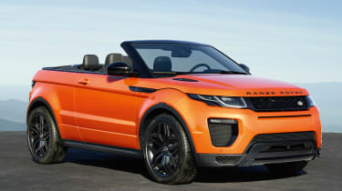 Range Rover Evoque Convertible static