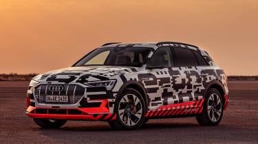 Audi e-tron Prototype review - front 3/4 still