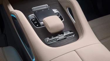 Mercedes GLS - studio centre console