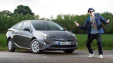 Toyota Prius long-term test - third report header