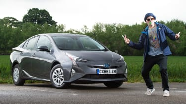 Toyota Prius long-term test - third report header