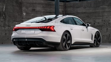 Audi e-tron GT - white rear