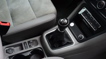 Volkswagen Sharan centre console
