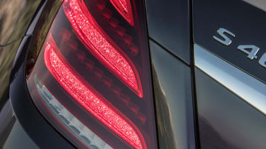 Mercedes S-Class - taillight