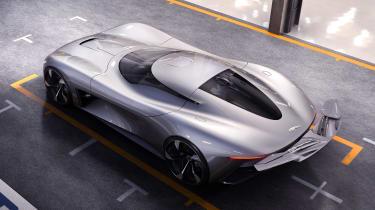 Jaguar Vision GT concept - rear