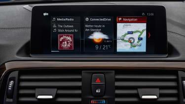 BMW 2 Series 2017 facelift infotainment