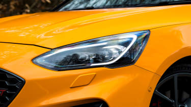 Ford Focus ST Estate: long-term test review  - first report - headlight