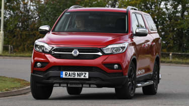 SsangYong Musso long term review - front cornering