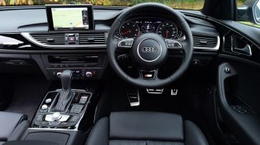 Audi A6 dashboard