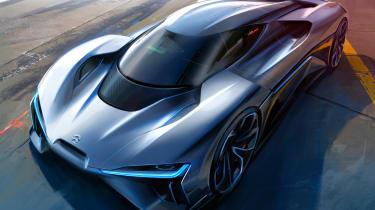 NextEV NIO EP9 electric hypercar - sketch