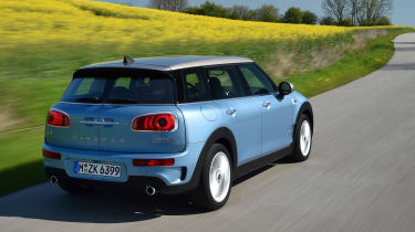 MINI Clubman ALL4 2016 - rear tracking 2