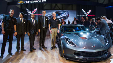 Corvette Grand Sport - Geneva 2016 - stand shot