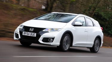 TheHonda Civic Tourer has been updated for 2015.