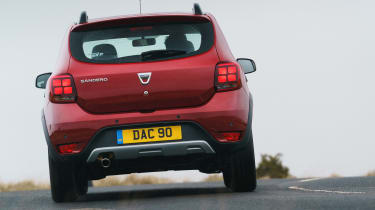 Dacia Sandero Stepway Techroad - rear action