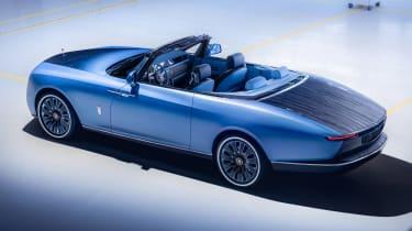 Rolls-Royce Boat Tail - rear