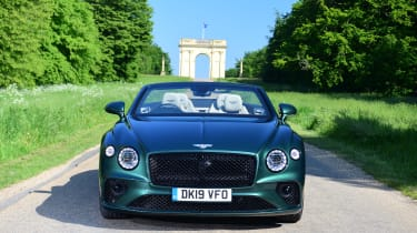 Bentley Continental GT Convertible - full front