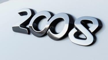 Peugeot 2008 badge