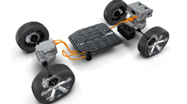 Mitsubishi MI-TECH concept - powertrain