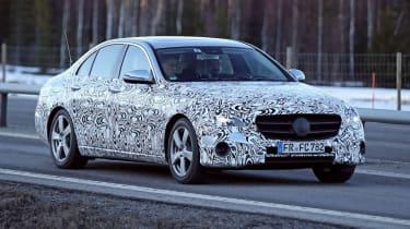 Mercedes E-Class 2016 spyshots front