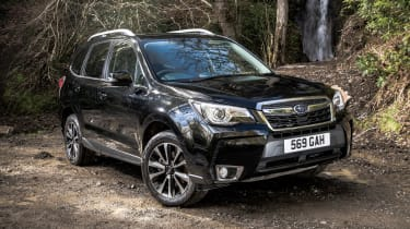 Subaru Forester XT - front static