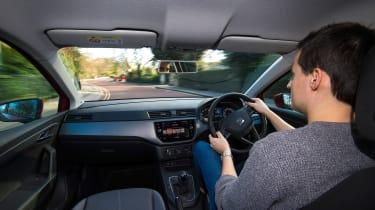 Ford Fiesta vs SEAT Ibiza - Ibiza driving