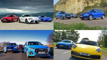 Best car group tests of 2019 - header