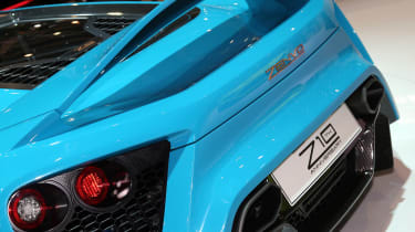Zenvo TS1 GT Geneva - rear detail