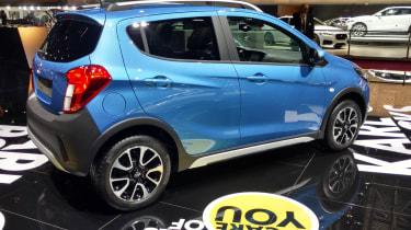Opel Karl Rocks -Paris rear three quarter