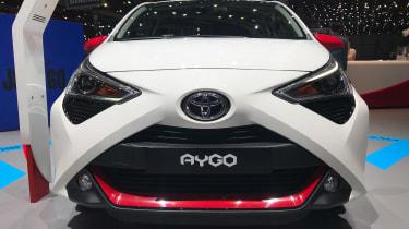 Toyota Aygo - front