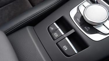 Audi A3 Convertible centre console buttons
