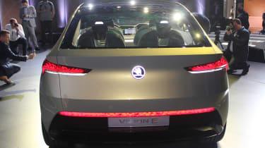 Skoda Vision E Concept - show full rear