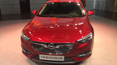 Vauxhall Insignia Grand Sport Geneva - full front