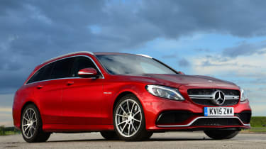 Mercedes-AMG C 63 Estate - front static