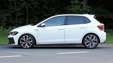 2022 VW Polo GTI spy shots rear
