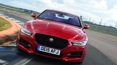 Jaguar XE - front action