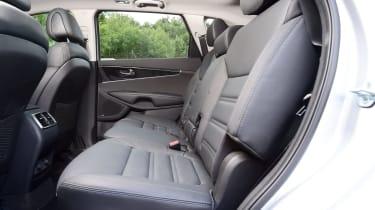 Used Kia Sorento Mk3 - rear seats