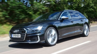 Audi S6 Avant - front tracking