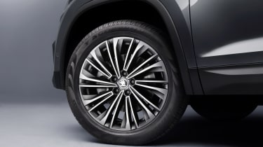 Skoda Kodiaq facelift - wheel