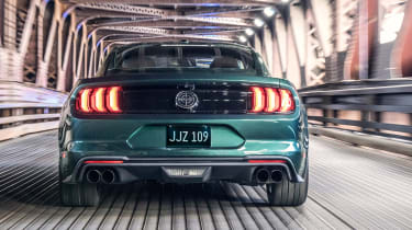 Ford Bullitt Mustang GT - full rear