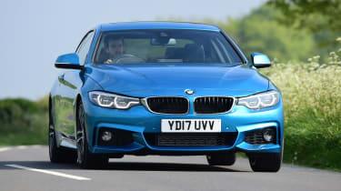 BMW 420d M Sport - front cornering