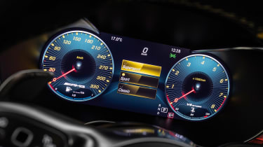 Mercedes-AMG C 63 S Coupe - dials