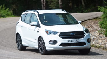 Ford Kuga - front cornering