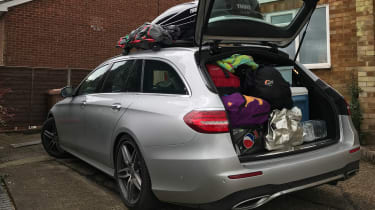 Mercedes E-Class Estate long term - second report full load