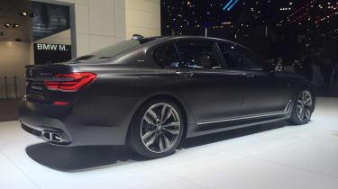 BMW M760Li Geneva - rear three quarter