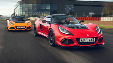 Lotus Exige Final Editions - front