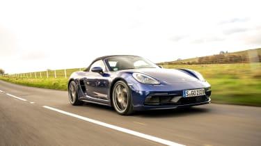 Porsche Boxster GTS 4.0 PDK tracking