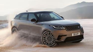 Range Rover Velar - off-road front cornering