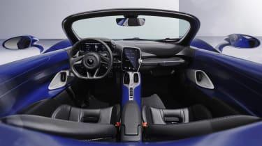 McLaren Elva windscreen variant - dash