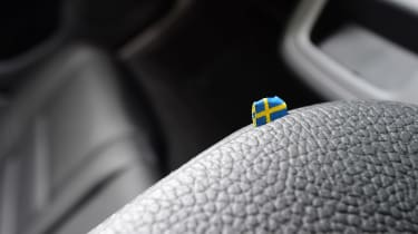 Volvo V60 - Sweden flag